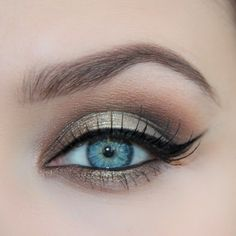 Gorgeous brown golden smokes for today's #makeup on the most beautiful pair of eyes I ... | Use Instagram online! Websta is the Best Instagram Web Viewer!