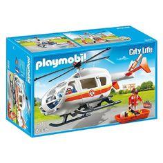Playmobil City life - Mentőhelikopter (6686)