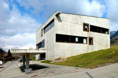 Primary School, Paspels (Switzerland), 1996-1998 - Valerio Olgiati