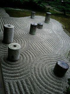 Mirei Shigemori, 20th century Japanese garden designer: 東福寺 Tofuku -ji  temple, Kyoto.