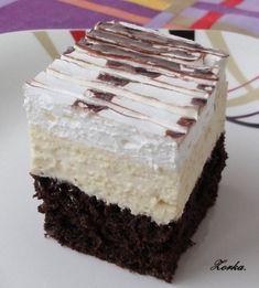 Czech Recipes, Ethnic Recipes, Hungarian Desserts, Albanian Recipes, Mini Cheesecakes, Vanilla Cake, Baked Goods, Baking Recipes, Caramel