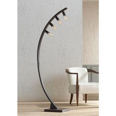 Franklin Iron Works Arcos Bronze Arch Floor Lamp - #4G503 | Lamps Plus