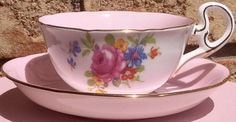 Pretty in Pink Royal GraftonTeacup and by PrettyPinkAddiction