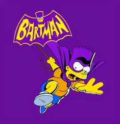 Bartman, The Simpsons Simpsons Tattoo, Simpsons Art, Batman Dark, Joker Batman, Cool And Funny Wallpapers, Armas Ninja, Simpsons Characters, Old School Cartoons, Graffiti Lettering