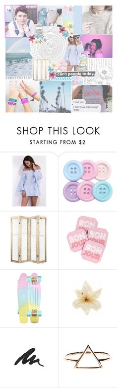 """""""♡ monthly wrap up: april"""" by tightrope-of-weird ❤ liked on Polyvore featuring GET LOST, Chanel, DENY Designs, Penny, Clips and Urban Decay"""