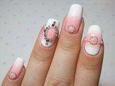 Preal summer wedding nail art