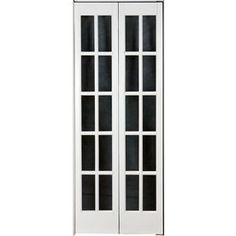 Shop Pinecroft Solid Core 10 Lite Pine Bi Fold Closet Interior Door  (Common: 24 In X 80 In; Actual: 23.5 In X 78.625 In) At Lowes.com | Home  Ideas ...