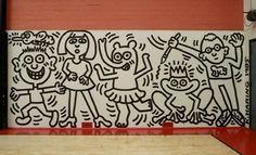Keith Haring, Haring, Mural, Art