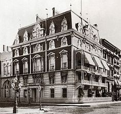 Jerome Mansion The mansion was located on the corner of East 26th Street and Madison Avenue, (32 East 26th St) across from Madison Square Park. It was built from 1859 to 1865. Torn down 1967.  Jerome's daughter, Jennie Jerome, who grew up in the mansion, later became Lady Randolph Churchill, the mother of Winston Churchill.