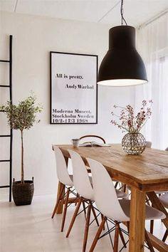 Comedores con Eames | Decorar tu casa es facilisimo.com