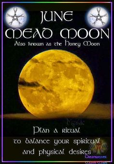 Polished Darkness: Moon Phases {Part 1} June's Mead Moon and ritual suggestions.