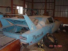 Plymouth Superbird, what a sad sight