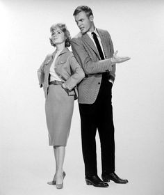Debbie Reynolds and Tab Hunter in The Pleasure of His Company 1961 Man Movies, I Movie, Movie Stars, Aldo Ray, Tab Hunter, Debbie Reynolds, Movie Couples, Fred Astaire, Famous Movies