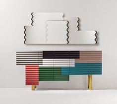 """Shanti"" - patchwork cabinet"