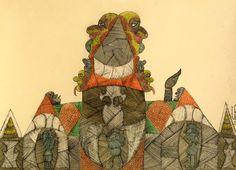 Scottie Wilson : Henry Boxer Gallery - Outsider Artist