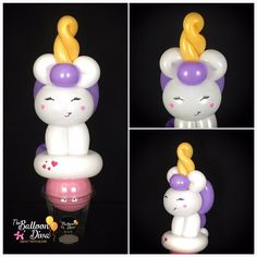 Unicorn Balloon Animal Party Favor Unicorn Balloon Animal Candy Cup GiftYou can find Balloon animals and more on our website. Diy Halloween Luminaries, Diy Halloween Decorations, Balloon Decorations, Birthday Party Decorations, Halloween Crafts, Balloon Ideas, Balloon Crafts, Halloween Window Clings, Halloween Shadow Box
