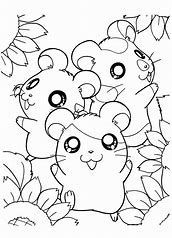 Image Result For Anime Hamsters Animal Coloring Pages Cute Coloring Pages Sunflower Coloring Pages