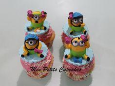 Minions Gym Cupcakes