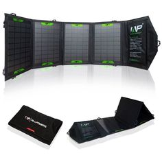Amazon.com: ALLPOWERS™ 16W Solar Panel Charger iphone External Battey Power Pack Dual USB Portable Charger Backup Power Bank Compatible with iPhone 6 5s 5c 5 4s 4, iPad Air mini, Galaxy S5 S4 S3, Note 4 3, HTC One M8, Nexus 5, Blackberry, GPS Units, Digital Camera, Bluetooth Speaker and Other Smartphones and Tablets: Cell Phones & Accessories