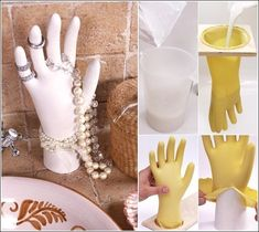 Make this Classic Hand to Display Your Jewelry