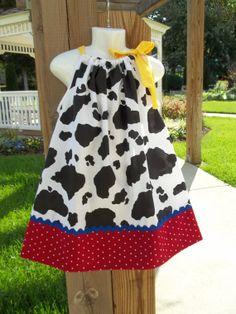 Toy story Jessie inspired dress