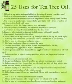 Discover more about :10 Best Tea Tree Oils Tea tree aka melaleuca is famous for its potent antibacterial and wound healing properties. You can diffuse best tea tree oils in a diffuser to kill mold and apply topically to treat skin issues as well as viral infections. The natural anti-inflammatory and antiseptic actions make it a natural medicine. Some traditional uses of oil include treatment of acne, chickenpox, cold sores and various infections. Tea tree oil is extracted...