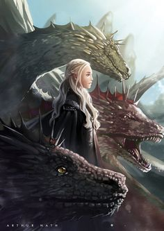 Daenerys by ArthurProject.deviantart.com on @DeviantArt