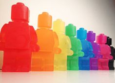 1 x Large Lego Man Fragranced Soap  Boys by TheRainbowSensation