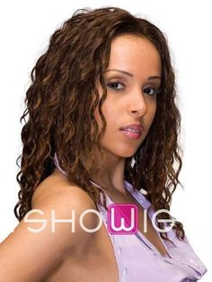 Fabulous Mid-length Deep Wave Synthetic Lace Front Wig http://www.ishowigs.com/fabulous-mid-length-deep-wave-synthetic-lace-front-wig-aa40332.html