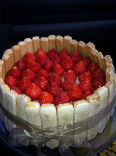 aardbeien charlotte... strawberry charlotte