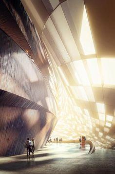 Norwegian studio Snøhetta has won a competition to design a waterside opera house in Busan, South Korea.