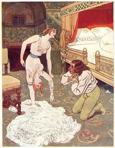 Artuš Scheiner, illustration from Fairy Tales For Adults written by Jean Qui Rit.
