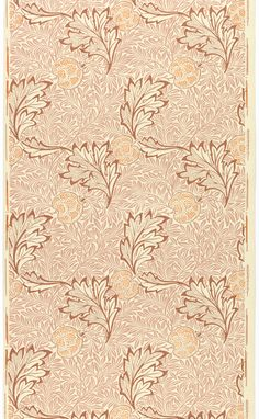 "William Morris wallpaper, ""Apple"" 1877"