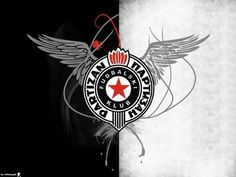 Partizan Football Club Football Fans, Messi, Ak 47, Decoupage, Cards, Soccer, San, Club, Logo