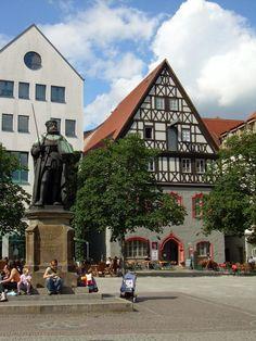 Downtown Jena - Jena, Thüringen
