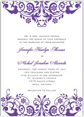 Wedding invitation templates homemade wedding invitations diy