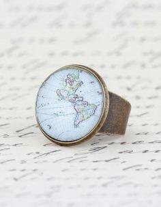 Statement Ring Cocktail Ring Map