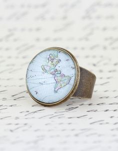 Statement Ring Cocktail Ring Map