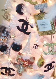 Elegant Chanel Christmas.
