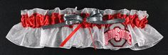 Might have to keep this in mind...Ohio State Bridal Garter by sewuniquegarters on Etsy, $17.99