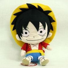 Figures: One Piece Plush Doll: Luffy Reversible Cushion
