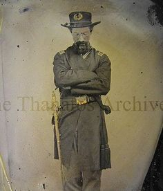Union Soldier Propped up. Post Mortem