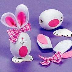 Spring Easter Crafts for Kids Frühling Ostern Basteln für Kinder Happy Easter, Easter Bunny, Easter Eggs, Easter Projects, Easter Crafts For Kids, Easter Ideas, Halloween Crafts, Holiday Crafts, Unicorn Egg