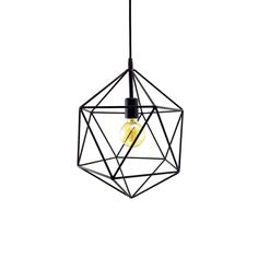 Geometric Pendant Light Handmade Hanging Light Cage Polyhedron Industrial Lighting Modern Metal Ceiling Lamp Geometric Globe Chandelier by LightingAlchemy Handmade Chandelier, Globe Chandelier, Handmade Lamps, Chandelier Pendant Lights, Pendant Lamp, Geometric Pendant Light, Geometric Lamp, Lustre Globe, Lustre Metal