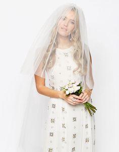 ASOS | ASOS WEDDING - Voilette à imprimé floral chez ASOS