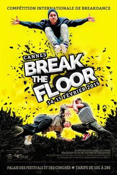 Break The Floor - Ville de Cannes 2015