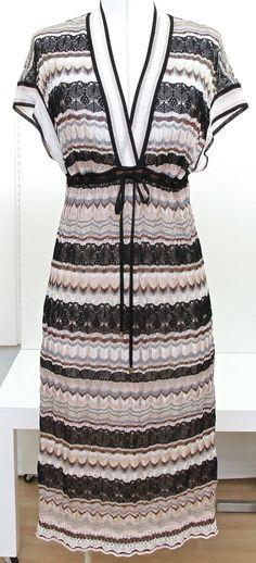Missoni Knit Sweater Dress Rayon Silk Short Sleeve Lined Sz 40     #missoni #knit #wrap #chloe #structured #grey #gray #blackandgray #geometrical #shortdress #marni #dress #johngalliano #silk #designer #print #fashion #style #trend #trendy #blackwhite #black #white #printed #beautiful #ootd #ootn #women #stylish #consignment #shop #online #store #vogue #nordstrom #saks #dvf #givenchy #edgy #longsleeve #long #couture #gown #pattern #patterns #lookbook #love #cute #saintlaurent #prada #gucci