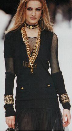 Karen Mulder for Chanel (90s)