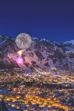 Aspen Colorado, New year's 2015 by Tobby Harriman Beautiful World, Beautiful Places, Portofino Italy, Aspen Colorado, Night City, Night Photography, Places Around The World, The Great Outdoors, Wonders Of The World