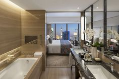 Image result for luxury hotel bathrooms